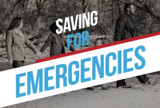 Saving for Emergencies graphic