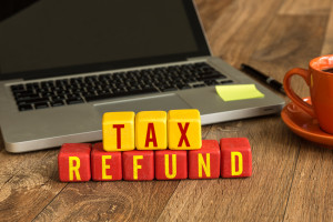 Tax refund cubes