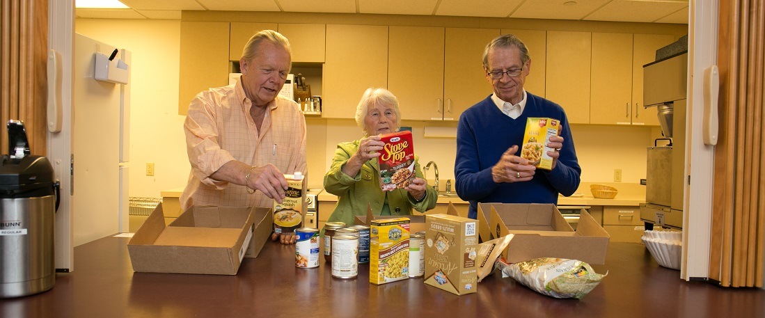Packing Meals for Seniors