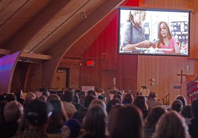 Screenagers documentary viewing at a church