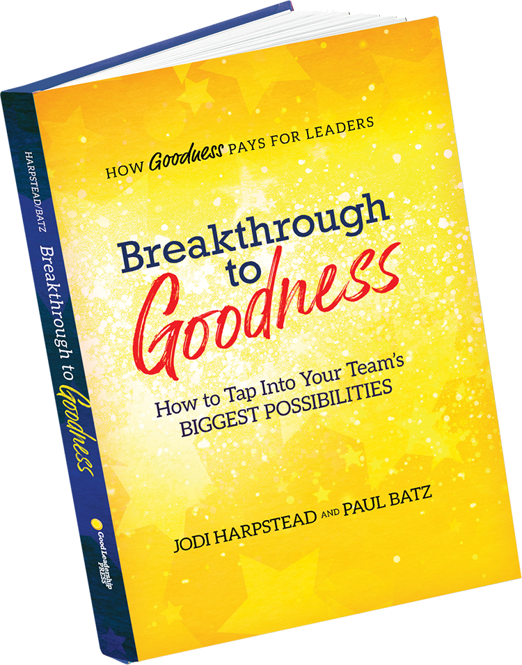 Breakthough to Goodness book cover