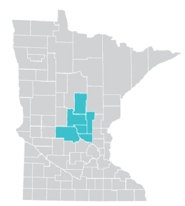 Map of Brainerd area