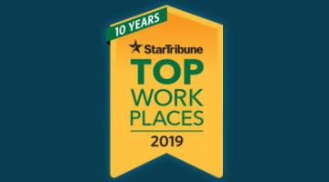 StarTribune Top Workplaces 2019
